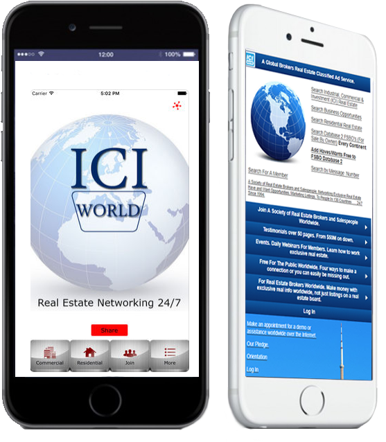 ICIWorld Apps and Mobile Website